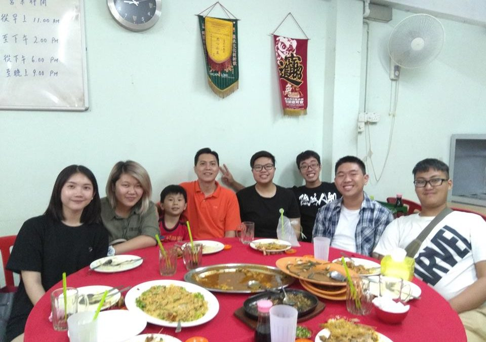 Appreciative Dinner for Helpers – 17 December 2017